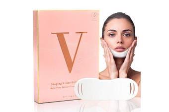 Latorice Natural V line Mask Shaping Mask Face Lifting Mask Tightening Firming Face Chin Up Mask Slimming Face Mask 5 Pcs