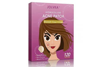(120 PATCHES) - Acne Pimple Patch (120 Patches), Absorbing Hydrocolloid Spot Dots Treatment Master, Tea Tree Oil