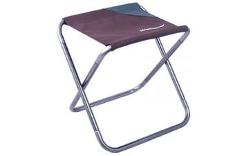 (Brown) - Azarxis Small Camping Folding Stool, Mini Outdoor Collapsible Slacker Chairs Seat Portable Lightwight Folding Stool for Fishing Camp Travelling Hiking Beach Garden BBQ with Carry Bag