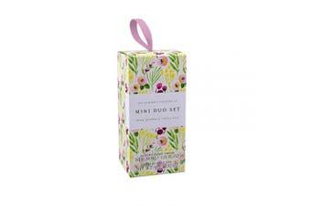 (Pink Pepper & Lotus Pod) - Floral Soap & Hand Cream Set - Pink Pepper & Lotus Pod
