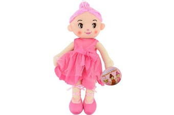 (Light Pink) - Cameleon 36cm Rag Doll Dancer by Rugged Rare (Light Pink)