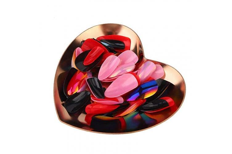 Fashion Nail Storage Tools, Heart-Shaped Storage Boxes For Storing Nails, Earrings, Rings And Necklaces, Etc(02)