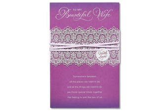 (Beautiful Wife Mother's Day Card With Ribbon) - American Greetings Beautiful Wife Mother's Day Card with Ribbon