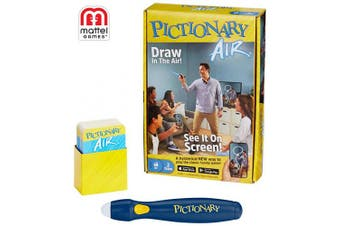 Mattel Games Pictionary Air – Navy Pen Version w/ 30% Unique Cards
