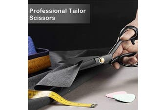 (23cm , Black) - Professional Dressmaking Scissors Stork Scissors Tailor Scissors Sharp Dressmaker Fabric Sewing Shears 23cm Scissor for Cloth Tailoring Altering Leather