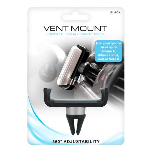 (black) - Universal Vent Mount for all Cell phones Colour: black Universal Vent Mount for all Cell phones fits Iphone X ,Samsung Glaxy Note 8 and more Universal Vent Mount for all Cell phones