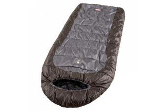 (Gray) - Coleman Big Basin 0- to 20-Degree Adult Sleeping Bag