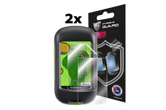 IPG Compatible with Garmin Approach G3 Waterproof Touchscreen Golf GPS Touch Screen (2X) Invisible Film Screen Protector Guard Cover Free Lifetime Replacement Warranty Bubble -Free