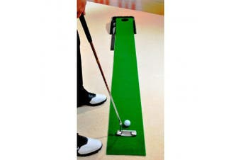 (Green/Black) - Club Champ Automatic Golf Putting System