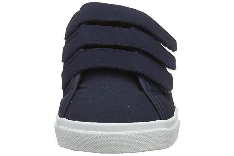 (13 UK Child, Blue (Dress Blue Dress Blue)) - Le Coq Sportif Unisex Kids' Verdon Ps Premium Dress Blue Trainers