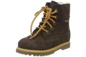 (1 UK, Brown (Jackson Espresso 30)) - Däumling Unisex Kids' Andy Classic Boots