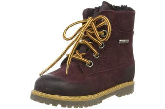 (2 UK, Red (Jackson Moscato 23)) - Däumling Unisex Kids' Andy Classic Boots