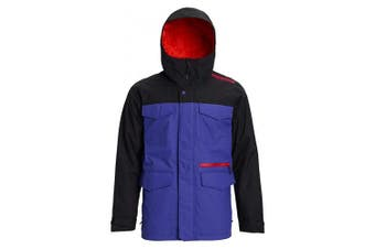 (S, Royal Blue/True Black) - Burton Men's Covert Jacket