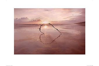Art Group The Ian Winstanley (Love on The Horizon) -Art Print 60 x 80cm, Paper, Multicoloured, 60 x 80 x 1.3 cm