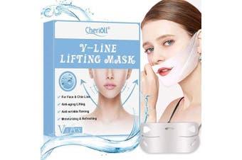 VLine Mask, V Mask, V Lifting Mask, V-LINE LIFTING MASK, Double Chin Reducer, Anti-ageing Lifting, Anti-wrinkle Firming, Moisturising & Refreshing For Face & Chin Line (5Pcs)