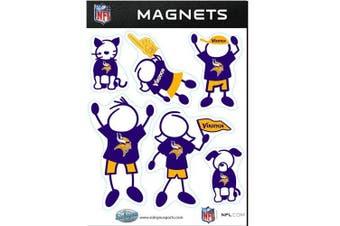 (Minnesota Vikings) - NFL - Minnesota Vikings Family Magnets