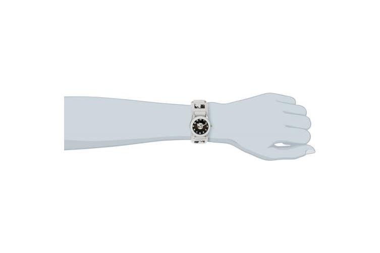(San Francisco Giants) - Game Time Men's 'Rookie' Quartz Metal and Nylon Casual Watch, Colour:White