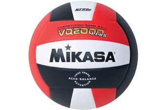 (red/white/black) - Mikasa VQ2000 Micro-Cell Indoor Volleyball, Red/Black/White
