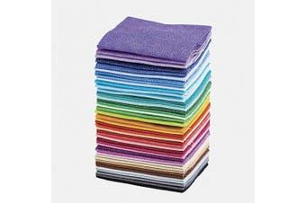 (Spritz Tonal) - Connecting Threads Blender Collection Precut Quilting Cotton Fabric Bundle Fat Quarters (Spritz Tonal)