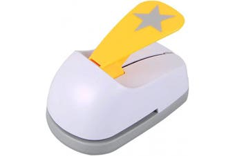 (Star 1) - Craft Lever Punch 5.1cm DIY Handmade Paper Punch for Festival and Greeting Card Making Ten Shapes Choices(Star 1)