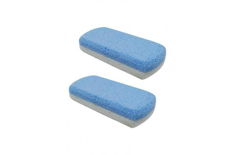 HEALIFTY Foot File Calluses Callus Remover Coarse Exfoliate Foot Care Dead Skin Remover Tools Remover (2Pcs,Double-colour)