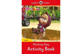 Masha and the Bear: Washing Day Activity Book - Ladybird Readers Level 1 (Ladybird Readers)