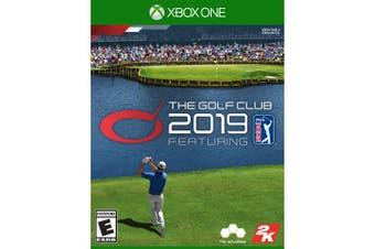 The Golf Club 2019 PGA Tour, 2K,Xbox One, 710425594809