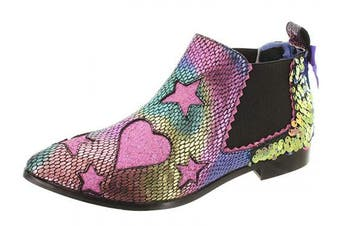 (6 UK, Purple) - Irregular Choice Women's Starlight Empress Ankle Boots