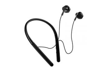 Wireless Headphones,Bluetooth Earphones with HiFi Sound,Sweat-Resistant,Built-in Mic,Secure Fit Sports Earbuds for Gym/Running/Workout(Black)