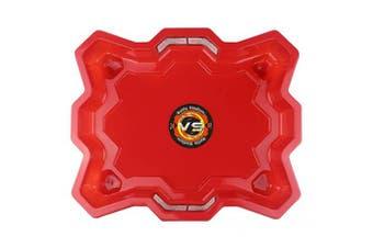 (Red) - 17Tek Bey Stadium Battle Arena Training Ground Super Vortex Attack Type for Beyblade Burst