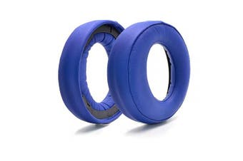 (Blue) - Defean Upgrade earpads Replacement for Sony Gold Wireless Headset PS3 PS4 7.1 Virtual Surround Sound CECHYA-0083 Headphone (Blue)