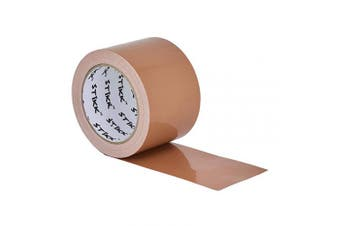 """3"""" x 25 yd 7.5 Mil Thick Tan Duct Tape PE Coated Weather Resistant (2.83 in 72MM)"""