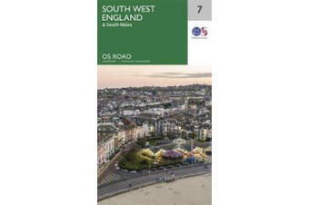 South West England (OS Road Map)