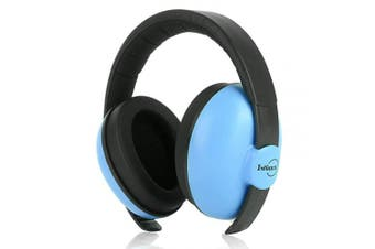 (Blue) - Baby Ear Protection Noise Cancelling Headphones Adjustable Ear Muffs for Autism Newborn Infant Autism Toddlers for Sleeping Aeroplane Concerts Theatre Fireworks, Upgraded Version, Blue