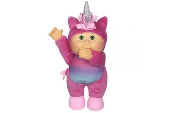 Cabbage Patch Kids Cuties Celeste Unicorn 23cm Soft Body Baby Doll - Fantasy Friends