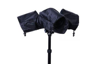 Camera Rain Cover, Waterproof Camera Protector Foldable for Canon, Sony and Nikon SLR Cameras with Short or Long Lens