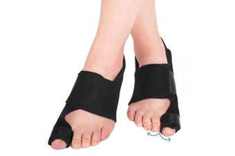 (1 Pair) - AVIDDA Bunion Corrector and Bunion Relief, Bunion Splint Big Toe Straightener Corrector Foot Pain Relief for Hallux Valgus Bunion Support Brace for Men Women (One Size)