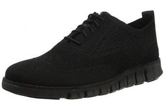 (7 UK, Black (Black/Black Black/Black)) - Cole Haan Men's Zerogrand Stitchlite Oxford