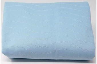 ComfortCare 85 X 135 4 Litre, Washable Reusable Bed Pad, Blue