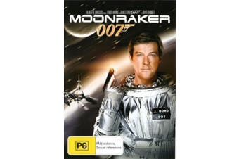 Moonraker (007) [Region B] [Blu-ray]