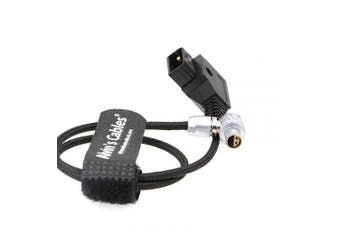 Alvin's Cables Z Cam E2 Camera Flexible Power Cable 4 Pin Right Angle to D Tap