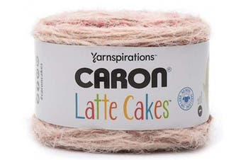 Caron Latte Cakes Self-Striping Yarn, 260ml / 250g, 530 Yards / 485 Metres (Claret 291222-22027)