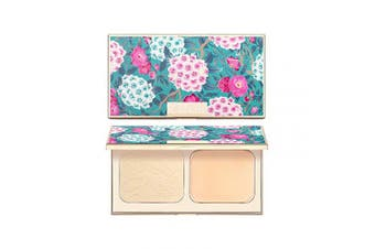 (C01 Ivory) - CATKIN Makeup Face Pressed Powder Foundation Compact Matte Conceal Pores Silky Smooth Creamy Texture (C01 Ivory)