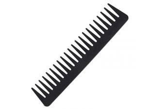 (101) - 101 Black Carbon Fine Cutting Comb, 235℃ Heat Resitent 100% Anti static, Haircut Comb, Hairdressing Comb, Hairstyling Comb, Detangling Comb,Detangler Hair Comb for Long Wet hair