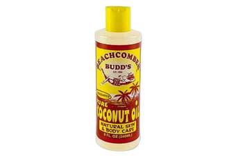 Hawaiian Beachcomber Budd Pure Unscented Coconut Oil 240ml