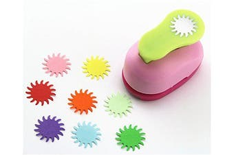 (Sun) - CADY Crafts Punch 2.5 cm Paper Punches Paper Flower (Sun)