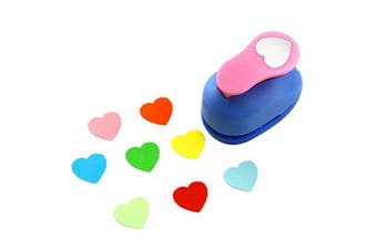 (Wave Heart) - CADY Crafts Punch 2.5 cm Paper Punches Paper Flower (Wave Heart)