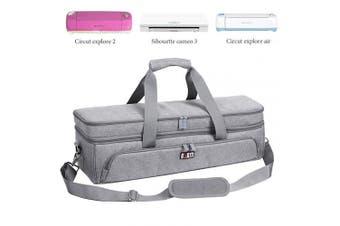 BUBM Double-Layer Carrying Bag for cricut Carrying case with Cricut Explore Air(Air2) Cricut Maker Cricut Die-Cut Machine Cricut Accessories