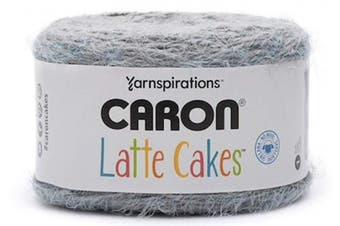 Caron Latte Cakes Self-Striping Yarn, 260ml / 250g, 530 Yards / 485 Metres (Grey Velvet 291222-22024)