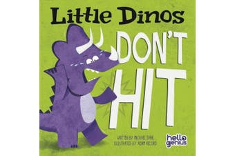 Little Dinos Don't Hit (Early Years: Hello Genius) [Board book]
